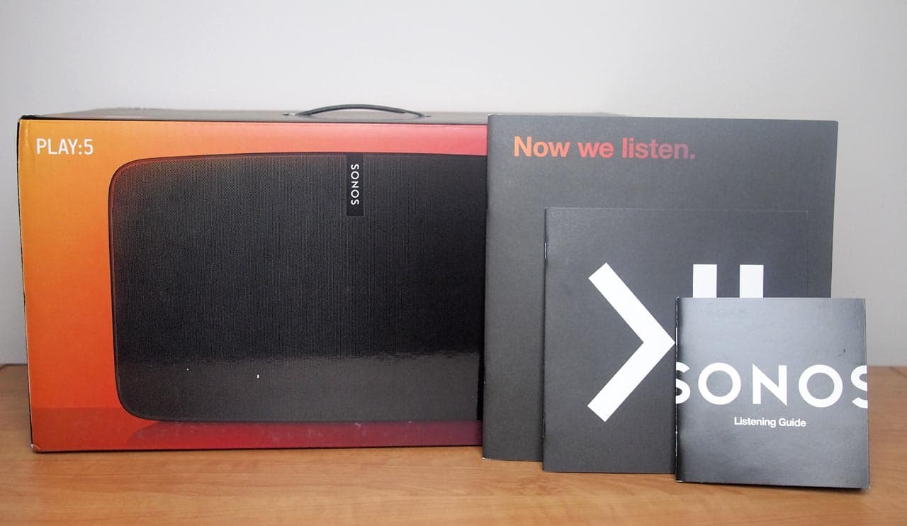 MEGATech Reviews: Sonos PLAY:5 (Gen 2) Wireless Speaker