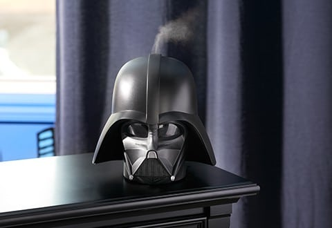 Irony: Darth Vader Humidifier Eases Wheezing