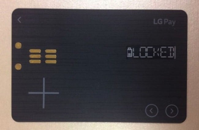 LG's White Card Combines All Your Cards Into One