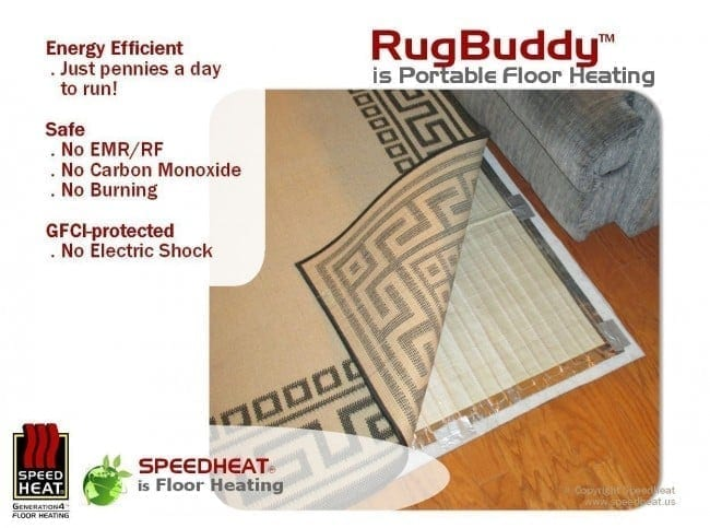 Rugbuddy Gives You Toasty Toes