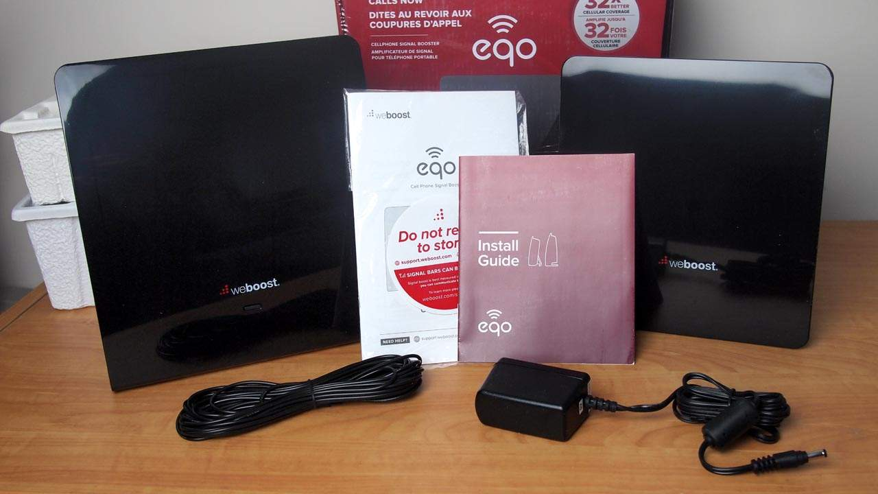 MEGATech Reviews: weBoost eqo Cell Phone Signal Booster