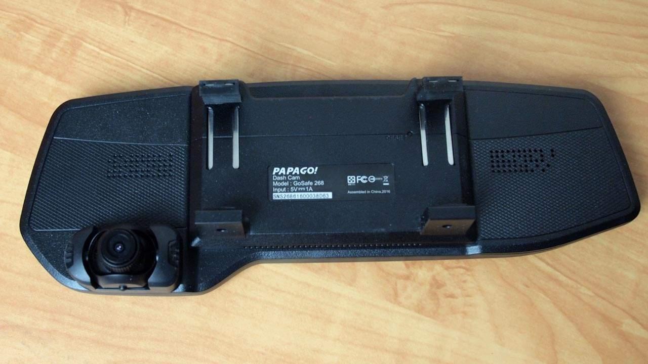 MEGATech Reviews: PAPAGO! GoSafe 268 Rearview Mirror HD Dashcam