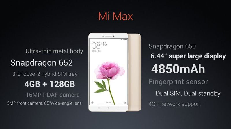 Can You Handle the 6.44-Inch Xiaomi Mi Max Smartphone?