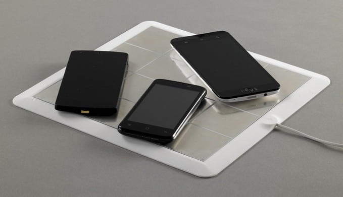 Energysquare Wireless Charging Mat Is Powered By Stickers