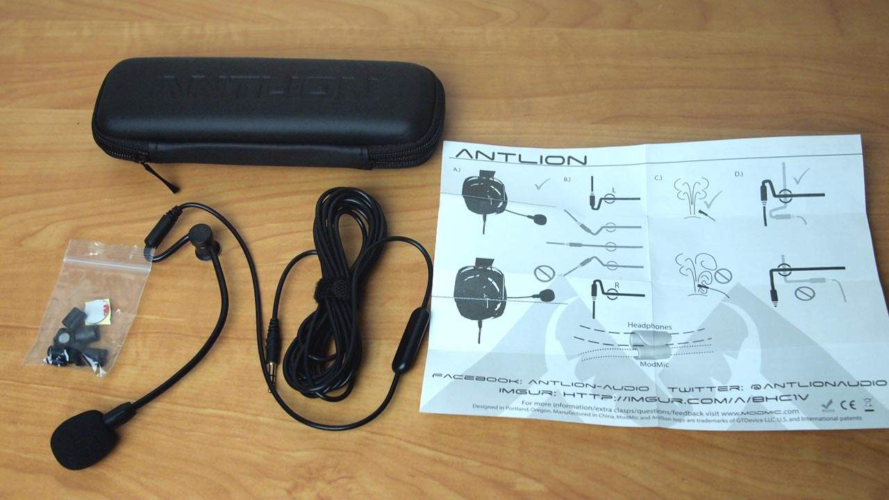 MEGATech Reviews: Antlion ModMic 4.0 Attachable Boom Microphone