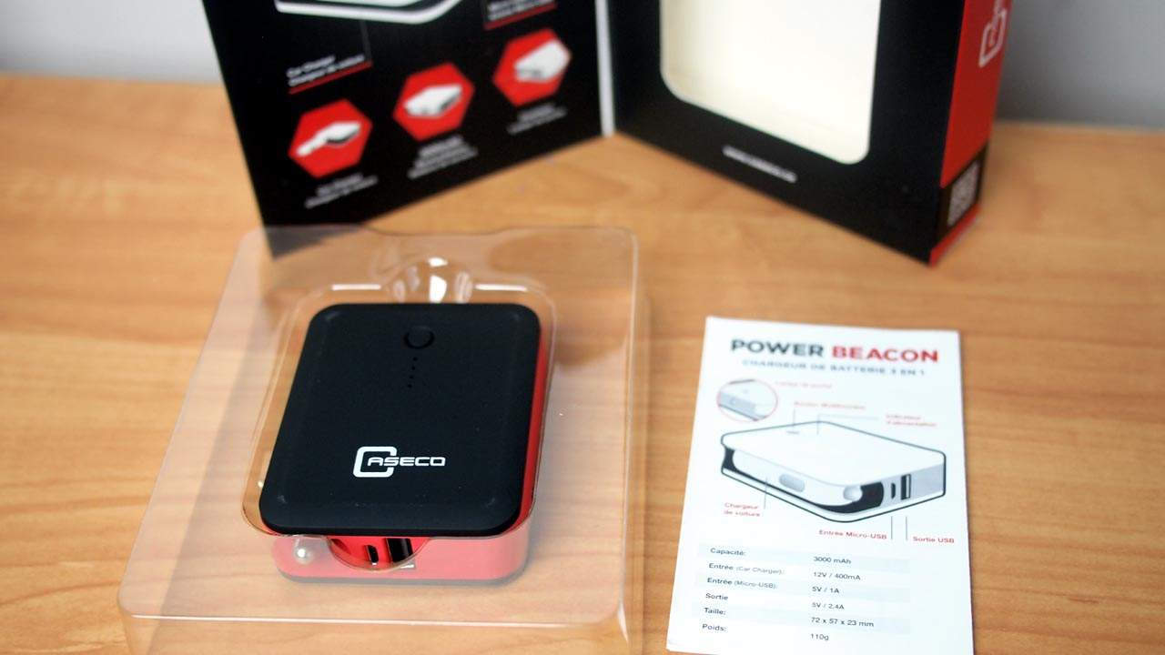 MEGATech Reviews: Caseco Power Beacon 3-in-1 Battery Charger