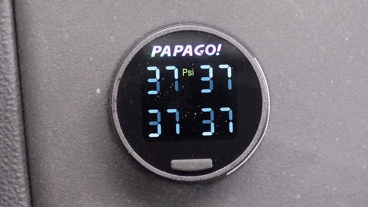 MEGATech Reviews: PAPAGO! GoSafe TPMS100 Tire Pressure Monitoring System