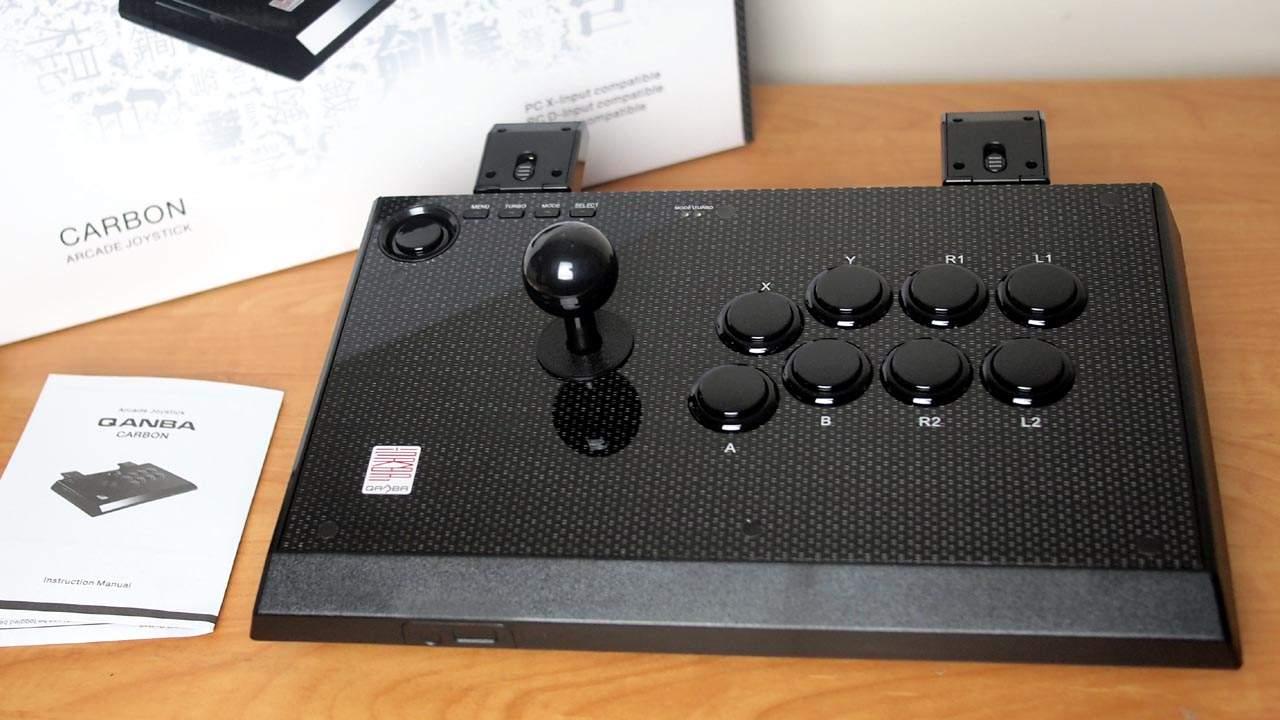 MEGATech Reviews: Qanba Carbon Arcade Joystick for PC and Android
