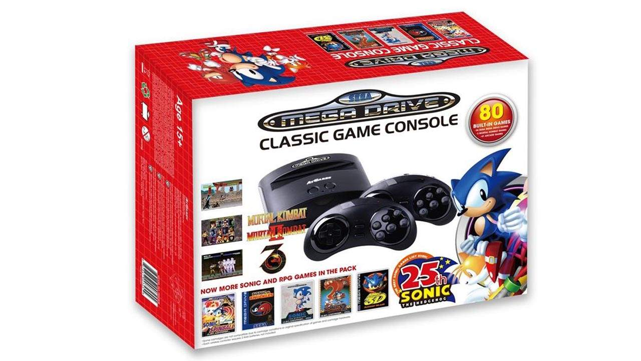 SEGA Mega Drive Mini Console Spins Out Old School Classics