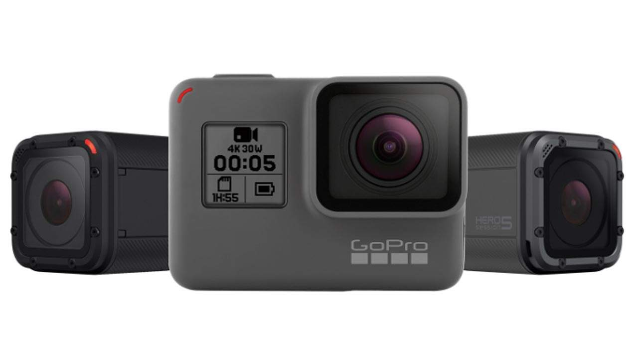 GoPro Hero5 Black and Session Ready for Your Adrenaline Rush