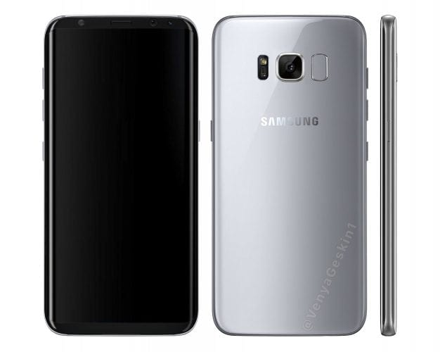 This Galaxy S8 Fan Render is Probably Pretty Accurate