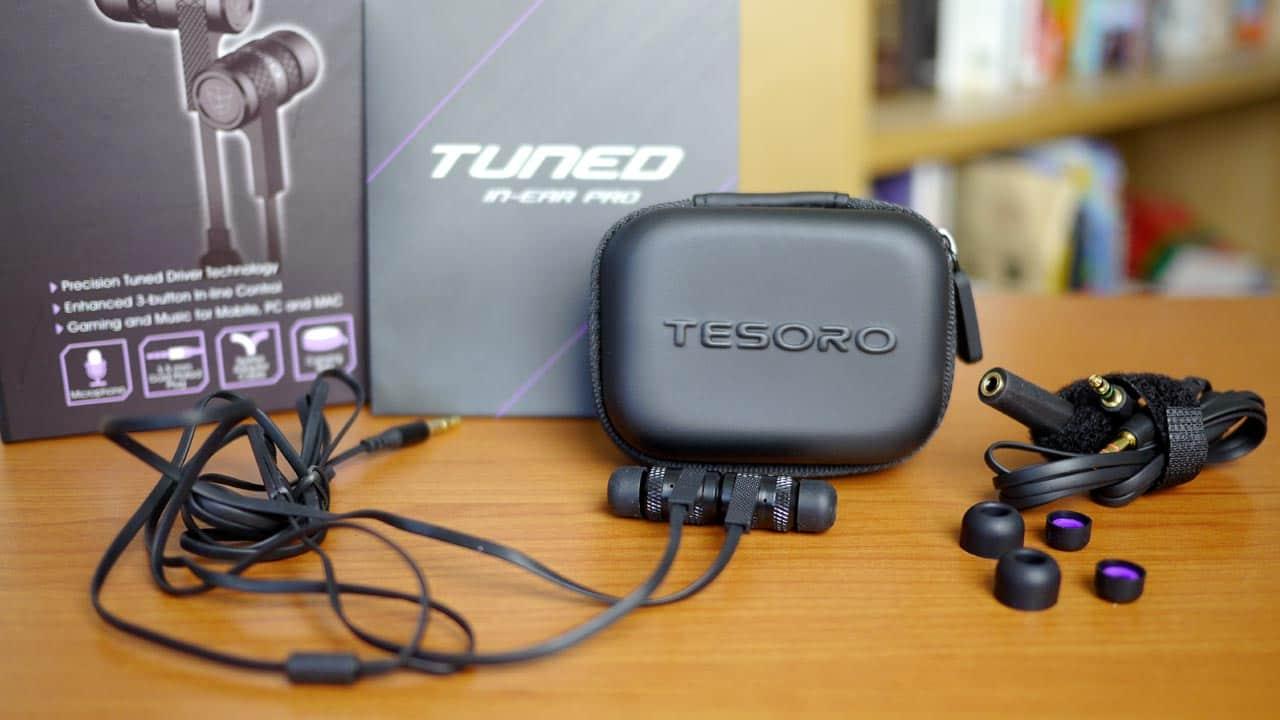 MEGATech Reviews: Tesoro Tuned In-Ear Pro Gaming Headphones