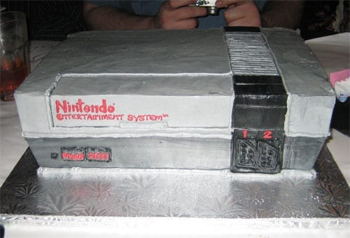 Nintendo NES Takes The Cake!