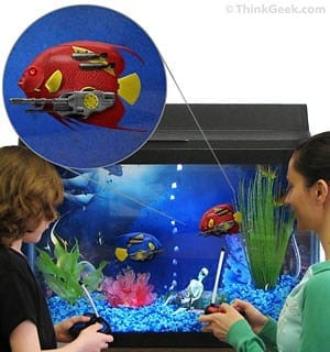 Turn Your Fish Tank Into A Battlefield