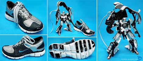 Shoes! Transform!