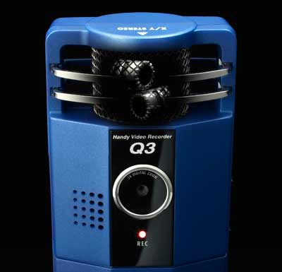 It's Not HD, but it Sounds Good - ZOOM Q3 Handy Video Recorder