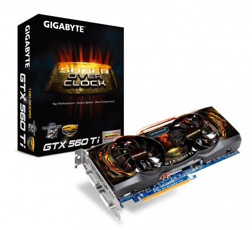 GIGABYTE Launches New GTX 560 Ti Series Graphics Card