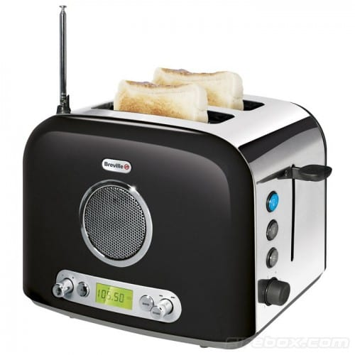 Toast and Jam? No, It's the Breville Radio Toaster!