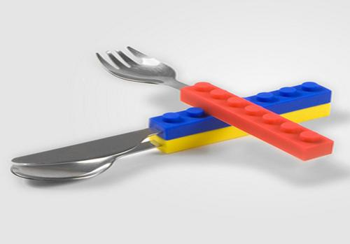 LEGO Cutlery Set Really Stacks Up