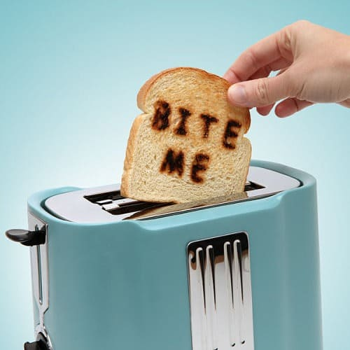 Pop Art Toaster Starts Your Day With Attitude