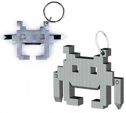 Dress Up Your Keychain With the Space Intruder Multi-Tool