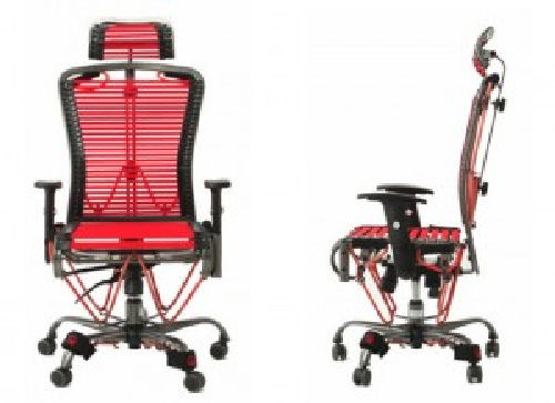 GymyGym Chair Lets You Work Out At Your Desk