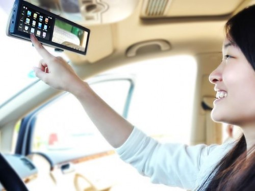 Bluetooth Rearview Mirror: Accident Waiting to Happen or Safety Device?