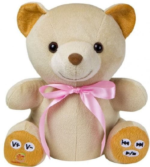 Cuddletunes Teddy Bear MP3 Player and Web Recorder Gets Them Rocking Early