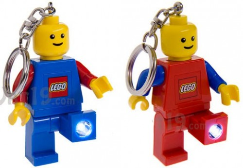 Don't Get Left in the Dark With a LEGO Minifigure Keylight Keychain