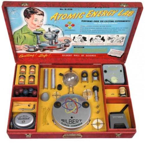1950s Era Science Kit Makes You Glow in the Dark