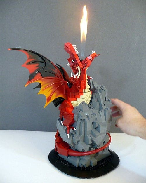 LEGO Dragon is Hot!