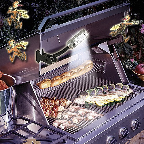 Grill Light Repels Mosquitoes Too!