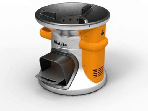 phone dead biolite wood burning stove will charge it while you make dinner megatechnews. Black Bedroom Furniture Sets. Home Design Ideas