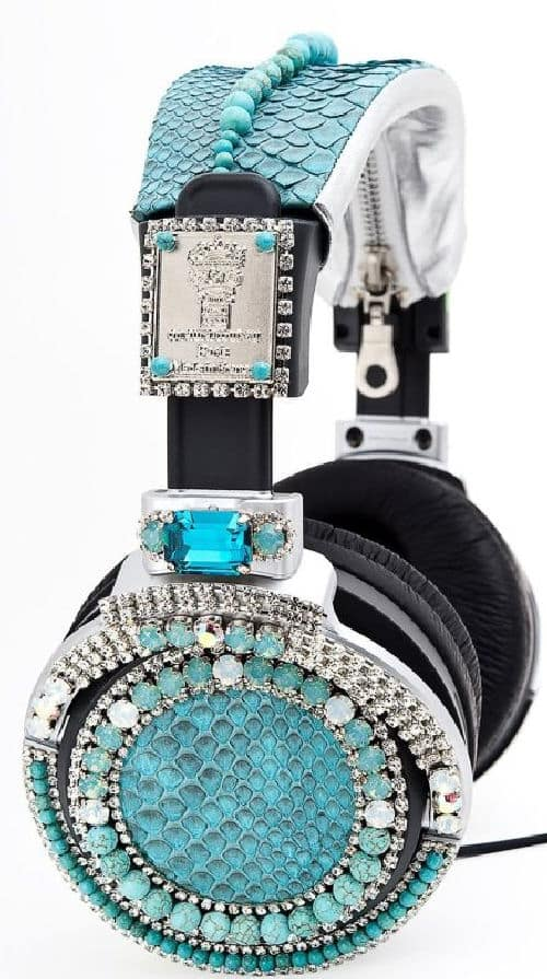 Get Your Bling On With Sony SWAROVSKI Headphones