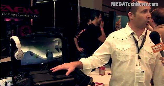 PAX 2011 - GAEMS Portable Xbox 360 and PS3 Gaming Case (Video)