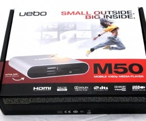 MEGATech Reviews - Uebo M50 Mobile 1080p Media Player