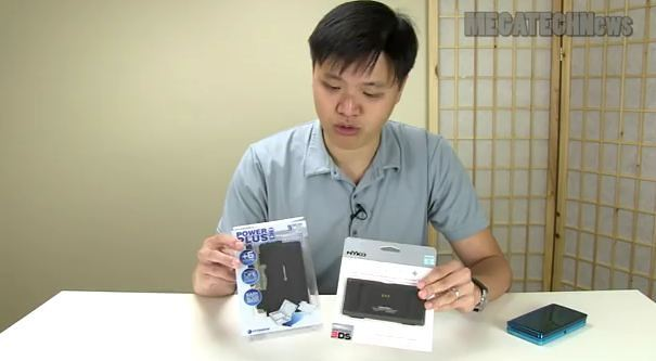 MEGATech Showcase - Nintendo 3DS Battery Packs By Nyko and Hyperkin (Video)