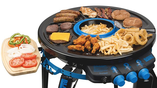 Tailgating Nirvana: Portable Deep-Frying Grill