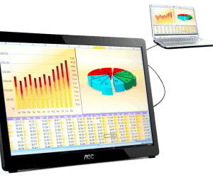 AOC Launches Their 16 Inch USB 2.0 Monitor