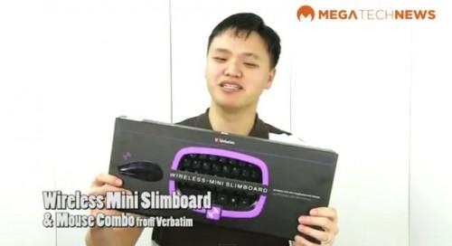 Winner of the Verbatim Wireless Slimboard MEGATechNews Giveaway