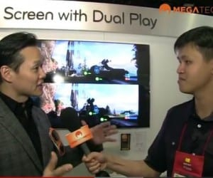 CES 2012 - LG Unveils New 3D Television and Gaming Technology