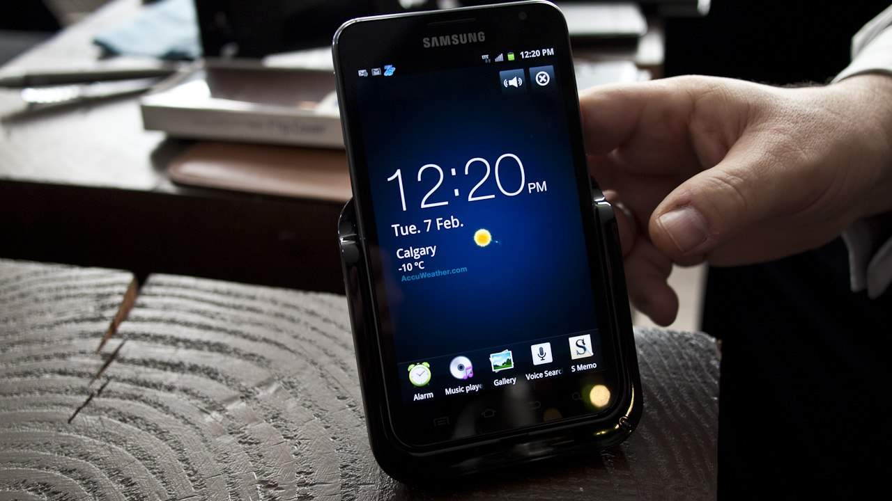 MEGATech Videos: The MEGA-Sized Samsung Galaxy Note Android Superphone
