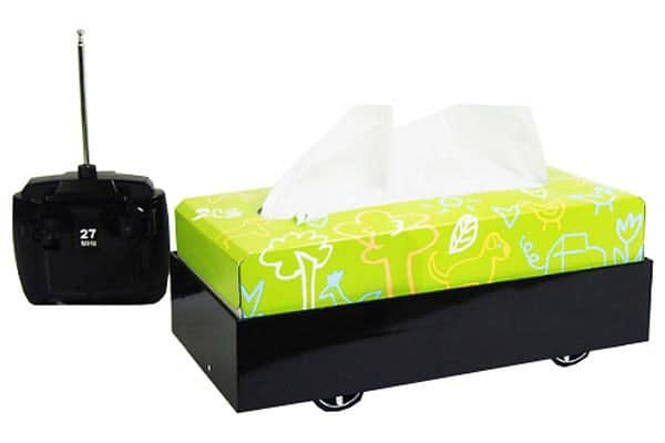 Too Sick To Get Up? You Need a Remote Controlled Tissue Box