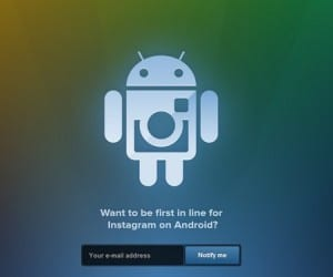 Android Instagram Sign-Ups Now Live