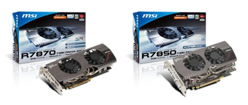 MSI Releases their 7800 Series GPU's at CeBIT 2012