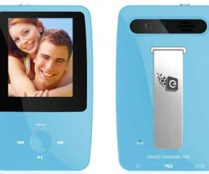 Ematic eSport Clip MP3 Video Player For Cheap Music on the Go