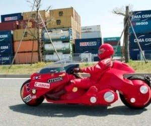 Akira Replica Bike Touring Japan For Charity