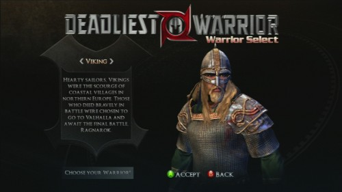 megatech reviews deadliest warrior ancient combat for xbox 360