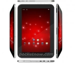 Leaked Render of Google Nexus Tablet by Asus or Toshiba?