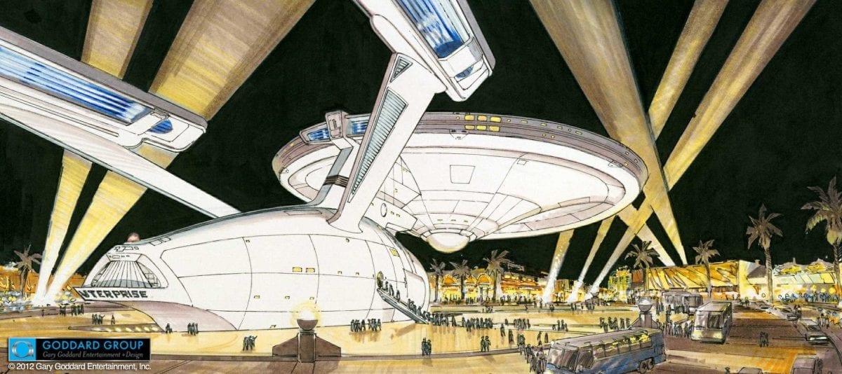 Las Vegas Almost Got Life-Sized Starship Enterprise